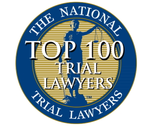 National Trial Lawyers Top 100 Award