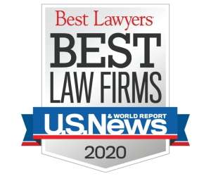 US News 2020 Best Law Firm Award