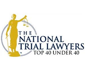 National Trial Lawyers Top 40 under 40 Award