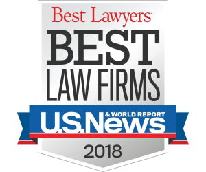 US News 2018 Best Law Firm Award