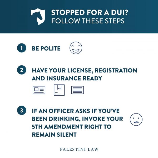 DUI Infographic - Palestini Law